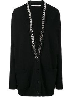 вязаный кардиган Thick с цепочной отделкой Givenchy