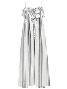 платье макси в полоску Mirinda Three Graces