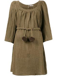 платье-туника с вырезом-ковш Three Graces