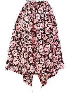 пышная юбка с цветочным принтом  Kenzo