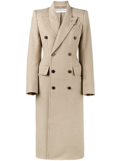 двубортное пальто Hourglass Balenciaga