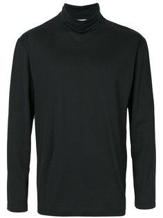 футболка с отворотной горловиной Sunspel