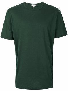 однотонная футболка  Sunspel
