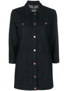 длинная джинсовая куртка J Brand
