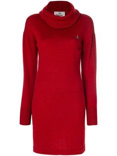 платье-свитер с высоким воротником Vivienne Westwood Anglomania