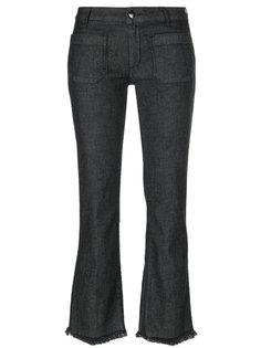 расклешенные джинсы с бахромой The Seafarer