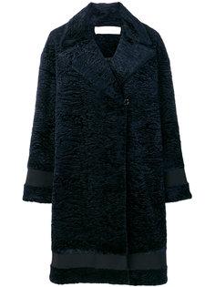 фактурное пальто длины миди Victoria Victoria Beckham