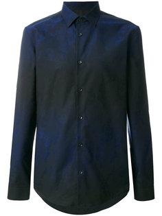рубашка с градиентным эффектом Versace Collection