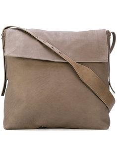 объемная сумка-мессенджер Rick Owens