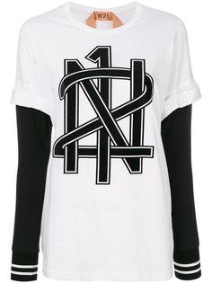 футболка с графическим принтом  Nº21