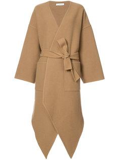кашемировое асимметричное пальто JW Anderson