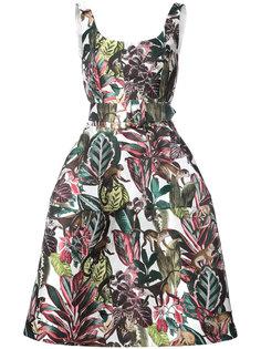 платье с пышной юбкой Oscar de la Renta