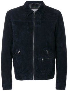 замшевая куртка Lanvin