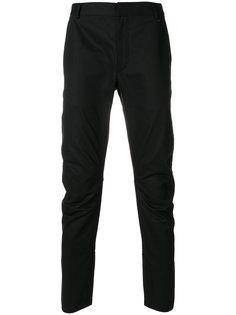 брюки с присборенной отделкой Lanvin
