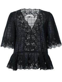 кружевная блузка Hedda Ulla Johnson