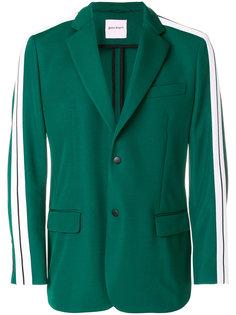 пиджак с контрастными полосками Palm Angels