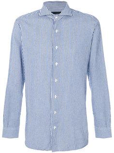 рубашка в полоску Lardini