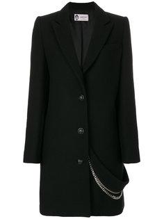 пальто с цепочкой Lanvin