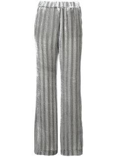 бархатные брюки в полоску Dorothee Schumacher
