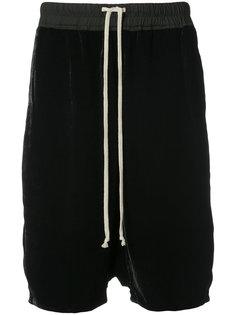 шорты на шнурке Rick Owens
