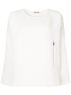 свитер Tesla со стеганым эффектом Nehera
