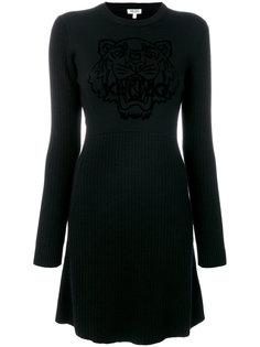 платье-свитер с тигром  Kenzo