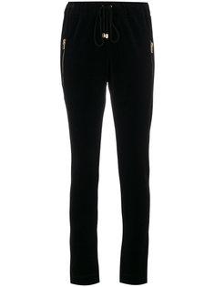 спортивные брюки с карманами на молнии  Alexandre Vauthier