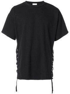 футболка со шнуровкой Faith Connexion