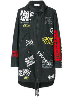 пальто с принтом граффити Faith Connexion