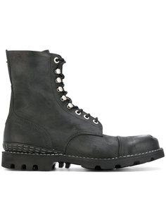 ботинки на рифленой подошве Diesel