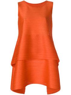 свободное платье со складками  Pleats Please By Issey Miyake