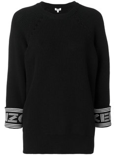 свитер с ребристой фактурой Kenzo Kenzo