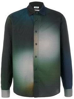 рубашка с высветленным дизайном Kenzo