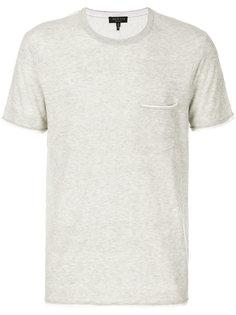 футболка с карманом спереди Rag & Bone
