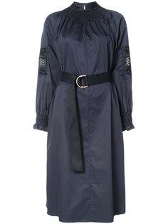 платье миди с вышивкой Tibi
