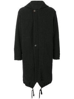 пальто с капюшоном Paul Uma Wang