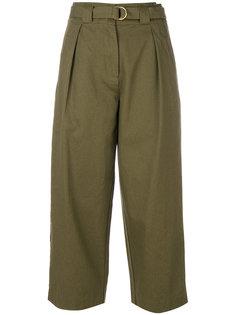 брюки с завышенной мешковатой талией  T By Alexander Wang