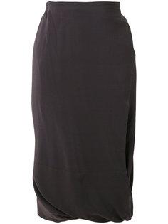 юбка-миди со сборкой Humanoid