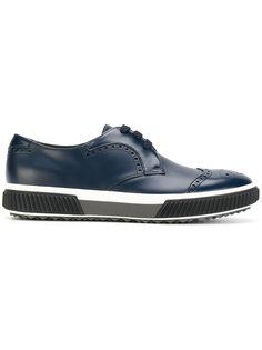 классический туфли со шнуровкой Prada