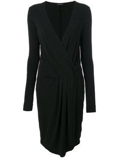 платье с V-образным вырезом  By Malene Birger