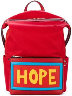 рюкзак с нашивкой HOPE Fendi