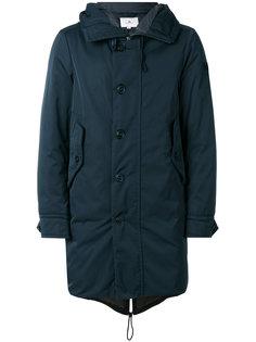 пальто средней длины с капюшоном Peuterey
