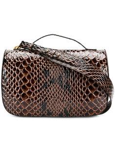 сумка с откидным клапаном с тиснением Simone Rocha