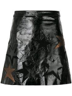 А-образная юбка с нашивкой-звездой  Manokhi