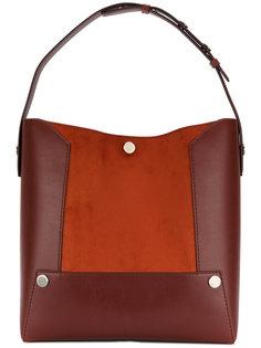 двухцветная сумка-ведро Stella Popper Stella McCartney