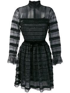 кружевное платье с высоким воротом  Philosophy Di Lorenzo Serafini