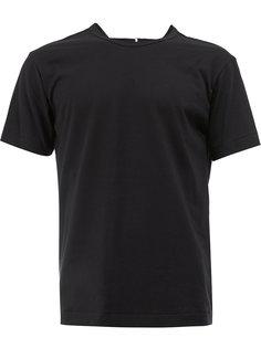 футболка с открытой спиной Comme Des Garçons Homme Plus