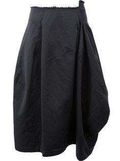 асимметричная пышная юбка Comme Des Garçons