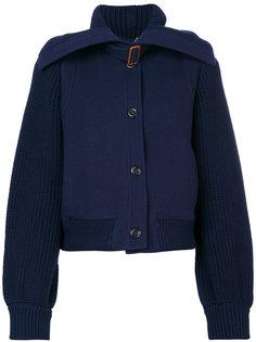трикотажная куртка-бомбер Chloé