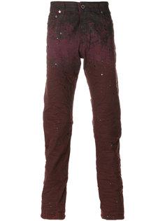 джинсы с принтом брызг краски Diesel Black Gold